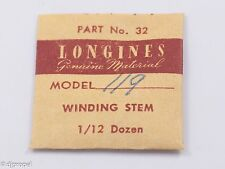 Longines Genuine Material Stem Part 32 for Longines Cal. 119