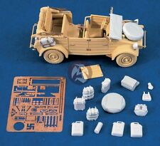 Verlinden 1/35 German VW Kubelwagen Vehicle Detail Set WWII (for Tamiya) 1284