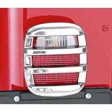 Jeep Wrangler CJ YJ TJ Tail Light Guard Set  76-06 Chrome 11354.03 Rugged Ridge