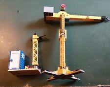 Lego city. Grue et WC de chantier. 2 pièces. + Plan. Lot 2LGWC.