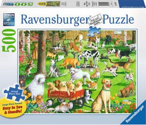 Ravensburger - At the Dog Park Jigsaw Puzzle 500pc Large Format