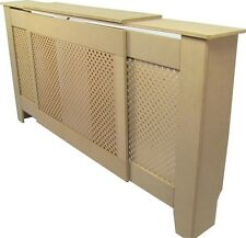 Adjustable Radiator Cover Cabinet Classic Design Unpainted Finish Hide Radiators