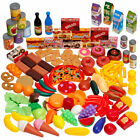 150 Pieces Play Food Set Fake Food Toys Grocery Shopping Role Play Kid Toy Gift