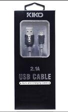 iPhone X 8/7/6S Plus 5S KiKo Genuine Original Apple Lightning to USB Cable Gray
