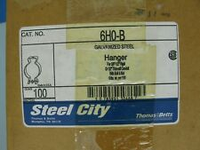 """Lot Of 100 Thomas & Betts Steel 1/2"""" Conduit Pipe Hangers NEW IN BOX"""