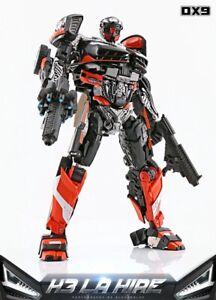DX9 Soul Series K3 LA HIRE Hot Rod Rodimus Transform Robot Action Figure