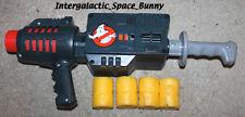 1985 Kenner Ghostbusters Kid Sized Role Play Popper Gun w/ Yellow Bullets