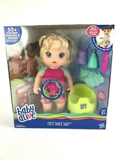 Baby Alive Doll,  Potty Dance Baby, Talking Blond Baby, New