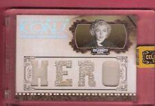 MARILYN MONROE WORN RELIC SWATCH MEMORABILIA CARD #d25 2008 CUTS AMERICANA ICONS