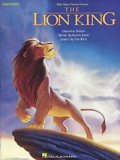 The Lion King Easy Piano Learn to Play Beginner PIANO Guitar PVG Music Book Song