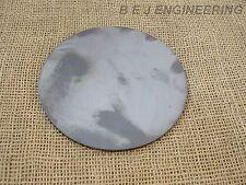 "Mild Steel Disc Circle 150mm(6"") dia x 3mm(1/8"") - Laser Cut"