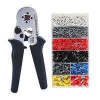 0.25-10mm² Wire Cable Crimping Tool Electrical Terminal Connector Crimper Pliers