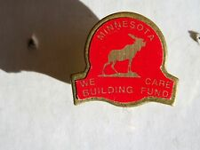 A Loyal Order of Moose Minnesota Association Lapel Pin We Care Building Fund