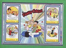 The Family Circus Comic Strip Bil Keane Souvenir Stamp Sheet #2783 Antigua E73