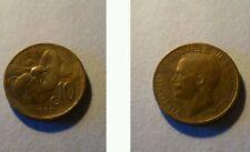 Moneta Regno d'Italia 10 centesimi 1922 Ape