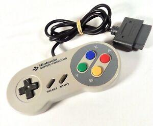 Manette Pad Controller Nintendo Super Famicom SFC SNES Officiel Jap Japan (16)