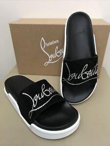 New CHRISTIAN LOUBOUTIN Women's Dear Pool Sandals. Sz.40.5. Org.$ 725.