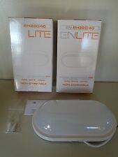 Enlite BH220/40 240v IP65 20w LED Oval Polycarbonate Bulkhead 4000k Cool White