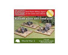 Plastic Soldier Company BNIB 1/72nd Russian 45mm anti tank gun WW2G20001