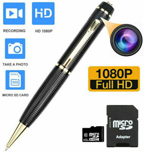 Wireless Spy Nanny Cam Mini Micro security covert hidden Camera dvr INK Pen 32GB