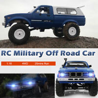 WPL C24 Remote Control Truck 1:16 4WD 2.4GHz Rock Buggy Crawler Off-Road RC Car