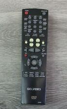 Go Video 00058E Dvd/Vcr Combo Genuine Remote Control Video Tv Tested
