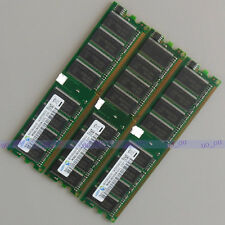 Samsung 3GB 3X1GB PC3200 DDR400 ram DIMM Desktop memory 64MX8 Low Density 400MHZ