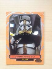 2013 Star Wars Galactic Files 2 # 455 Commander Bly Topps Cards