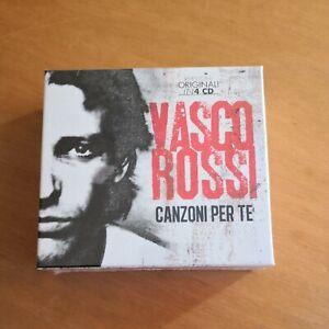 VASCO ROSSI CANZONI PER TE BOX 4 CD SIGILLATO RARO FUORI CATALOGO