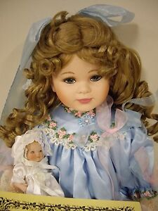 """Kingstate-The Doll Crafter, Roberta Remembers By Robin Woods """"Rachel"""" Doll"""