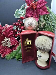 Kent BK12 silver Tip Pure Badger Shaving Brush