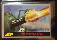 "2017 Topps Mars Attacks Revenge Rare Silver Parallel 8/10 ""The Tractor Beam"" #2"