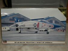 Hasegawa 1/72 RF-4B Recon. Phantom II 'Spirit Of America' - Factory Sealed