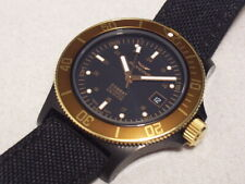 GLYCINE COMBAT SUB GL0093 GOLDEN EYE 20 ATM AUTOMATIC, SWISS MADE, 42 MM, NEW