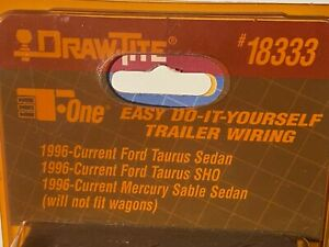 Draw-Tite 18333 Anhänger Anschluss Set, Ford Taurus Limousine, Merkur Zobel, Neu