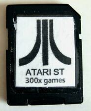 Atari ST STE TT : 300x jeux / games bootable SD CARD for SATAN DISK Ready To Use