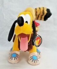 Disney Parks Frontierland Pluto Plush Stuffed Toy New With Tags