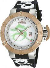 Invicta 13913 Subaqua Noma III Lume Blue Dragon Quartz GMT Mother-Of-Pearl Watch