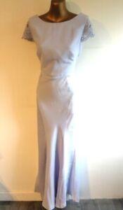 Coast 12 Adelina Maxi dress BNWT - RRP £195 Satin panels detailed back (3413