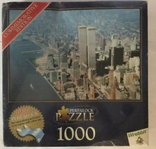 "PERFALOCK 1000-PIECE JIGSAW PUZZLE WREBBIT ""WORLS TRADE BUILDING FACTORY SEALED"
