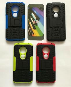 Heavy Duty Shockproof Bumper Hybrid Armor Stand Case For Various Motorola Phones