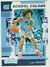 2019-20 Panini Contenders SCHOOL COLORS COBY WHITE RC Rookie Bulls QTY AVAILABLE