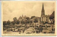 CP 79 Deux-Sèvres - Parthenay - Le Champ de Foire - Flèche Eglise St-Laurent