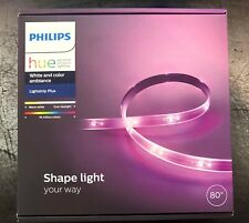 """Philips Hue Lightstrip Plus - White and Color Ambiance - 80"""" - NEW 800276 LED"""
