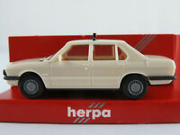 "Herpa 4003 BMW 528i Limousine (1981) ""TAXI"" in hellcremeweiß 1:87/H0 NEU/OVP"