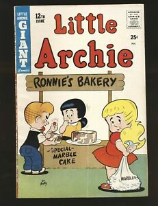 Little Archie Giant Comics # 12 VG+ Cond.