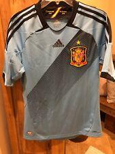 Adidas Espana Rfcf Spain Blue Soccer Jersey Campeones 1964 De Europa 2008 Mens S