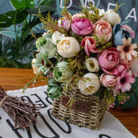 Artificial/Fake Peony Silk Flowers Bridal Bouquet Hydrangea Home Wedding Decor