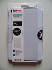 Hama. Cover Funda trasera para Apple iPad mini 1-3. blanco. policarbonato