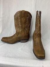 Durango Men's DDB0162 Gambler Brown Leather Cowboy Western Boots 11W